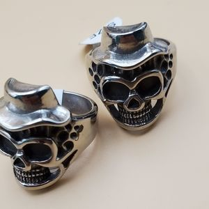 Skull's rings stainless steel